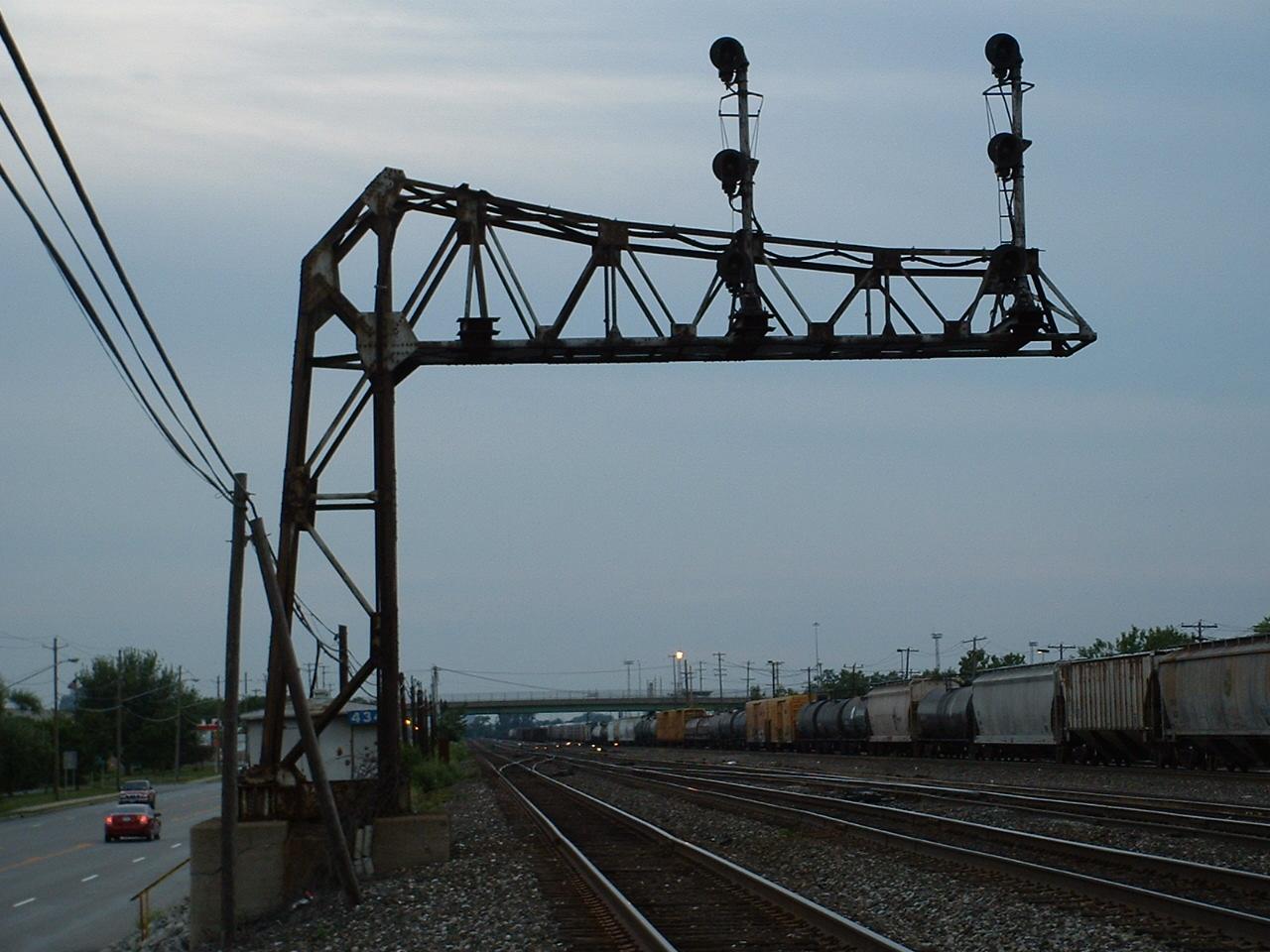 railroad signal bridges